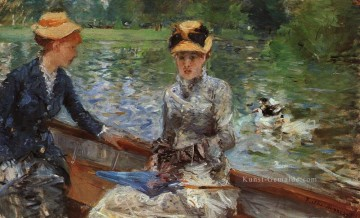 Day Kunst - A Summers Day Berthe Morisot