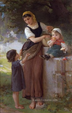 may i have one too Akademischer Realismus Mädchen Emile Munier