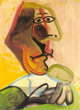 Pablo Picasso Werke - Buste d`homme 1971 Pablo Picasso