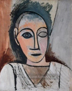 Pablo Picasso Werke - Buste d homme 1907 Pablo Picasso
