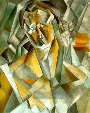 Pablo Picasso Werke - Femme assise 1 1909 Pablo Picasso
