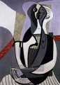 Femme assise 2 1927 Pablo Picasso
