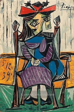 Pablo Picasso Werke - Femme assise 2 1962 Pablo Picasso