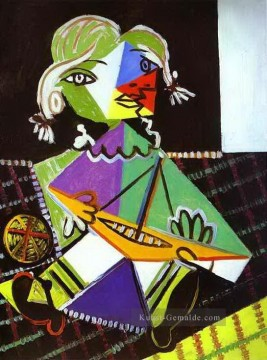 Girl with a Boat Maya Picasso 1938 Pablo Picasso Ölgemälde