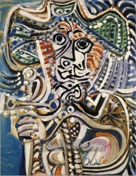 Pablo Picasso Werke - Mousquetaire Homme 1972 Pablo Picasso