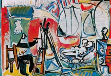 Pablo Picasso Werke - The Artist and His Model L artiste et son modele IV 1963 Pablo Picasso