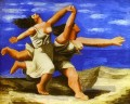 Women Running on the Beach 1922 cubist Pablo Picasso