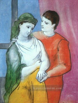 Pablo Picasso Werke - The Lovers 1923 Pablo Picasso