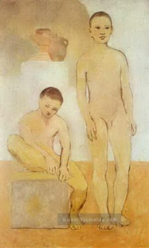 Pablo Picasso Werke - Two Youths 1905 Pablo Picasso