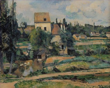 Moulin Galerie - Moulin de la Couleuvre bei Pontoise Paul Cezanne