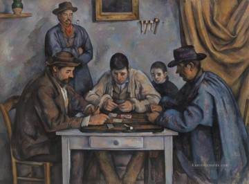 The Card Players 1892 Paul Cezanne