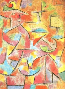 Kinder Malerei - Kind und Tante Paul Klee