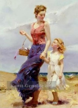 Affection Dame Maler Pino Daeni Ölgemälde
