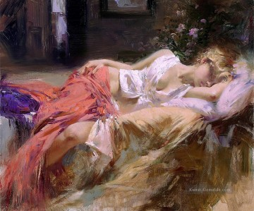 Day Dream Dame Maler Pino Daeni