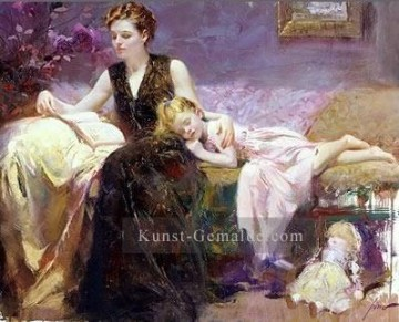 Precious Moments lady painter Pino Daeni