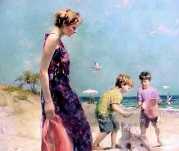 Good Old Days lady painter Pino Daeni