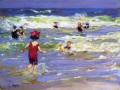 Little Sea Bather Impressionist Strand Edward Henry Potthast
