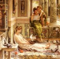 J Corner Of The Villa girl Edward Poynter