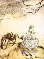Mutter Gans little Miss Muffet Illustrator Arthur Rackham