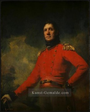 James Ölgemälde - Colonel Francis James Scott Scottish Porträt Maler Henry Raeburn