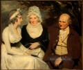 John Johnstone Betty Johnstone und Fräulein Wedder Scottish Porträt Maler Henry Raeburn