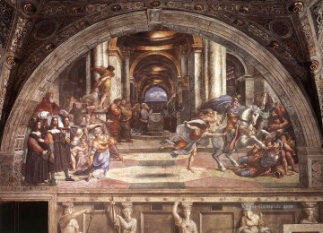 Raphael Werke - The Expulsion of Heliodorus from the Temple Renaissance Meister Raphael