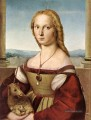 Lady with a Unicorn Renaissance Meister Raphael