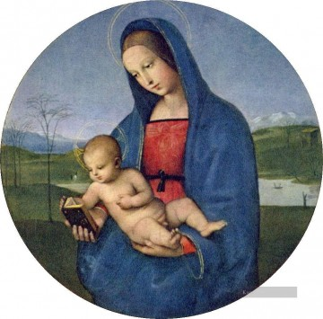 Raphael Werke - Madonna with the Book Connestabile Madonna Renaissance Meister Raphael