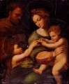 Holy Famliy With Saint John The baptist Renaissance Meister Raphael