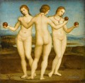 The Three Graces Renaissance Meister Raphael