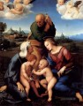 The Holy Family With Saints Elizabeth and John Renaissance Meister Raphael