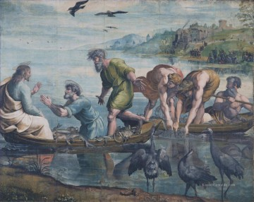 Raphael Werke - The Miraculous Draught of Fishes Renaissance Meister Raphael