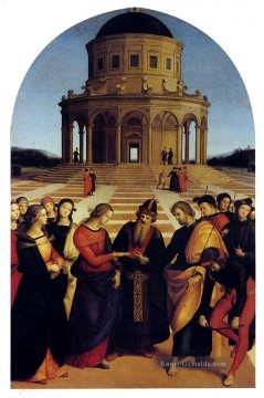 Raphael Werke - Marriage Of The Virgin Renaissance Meister Raphael