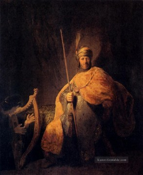 Rembrandt van Rijn Werke - David Playing The Harp To Saul Rembrandt