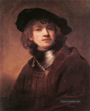 Rembrandt van Rijn Werke - Self Porträt as a Young Man 1634 Rembrandt