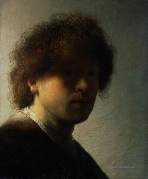 Rembrandt van Rijn Werke - Self Porträt at an Early Age 1628 Rembrandt