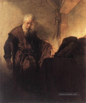 Rembrandt van Rijn Werke - St Paul at his WritingDesk Rembrandt