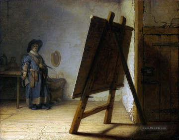 Rembrandt van Rijn Werke - The Artist In His Studio Rembrandt