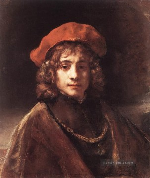 The Artists Son Titus Rembrandt Ölgemälde