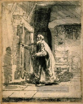 Rembrandt van Rijn Werke - The Blindness of Tobit SIL Rembrandt