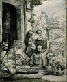 Abraham Entertaining die Engel SIL Rembrandt