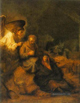 Rembrandt van Rijn Werke - The Dream of St Joseph Rembrandt