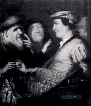Rembrandt van Rijn Werke - The Sense Of Sight Rembrandt