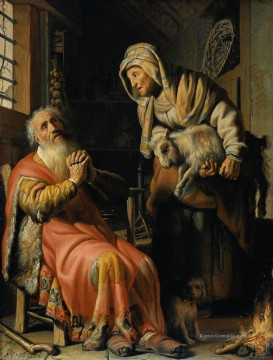 Rembrandt van Rijn Werke - Tobit and Anna with a Kid Rembrandt