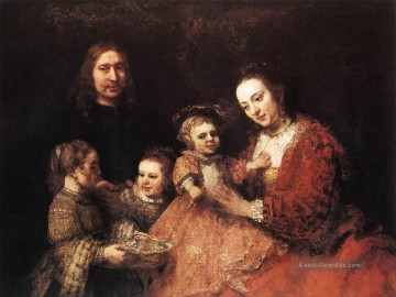 Family Group Rembrandt Ölgemälde