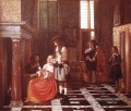 Das Card Players Genre Pieter de Hooch