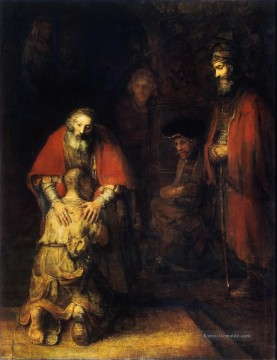 Rembrandt van Rijn Werke - The Return of the Prodigal Son Rembrandt