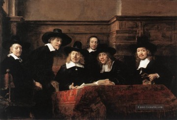 Rembrandt van Rijn Werke - Sampling Officials of the DrapersGuild Rembrandt