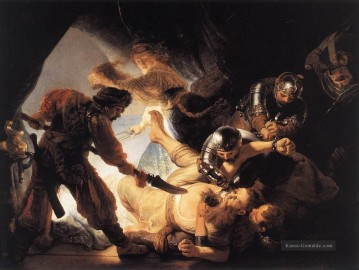 The Blinding of Samson Rembrandt Ölgemälde