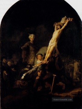Rembrandt van Rijn Werke - The Elevation Of The Cross Rembrandt